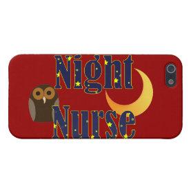 Night Nurse iPhone 5 Case