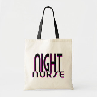 NIGHT NURSE PINK TOTE BAG