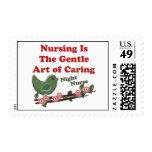 Night Nurse Postage Stamps