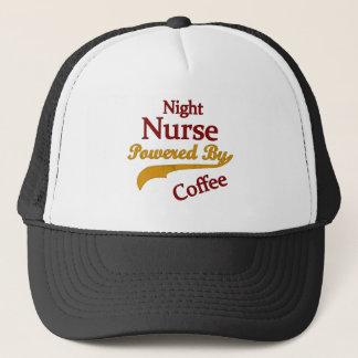 Night Nurse Powered By Coffee Trucker Hat