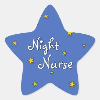 Night Nurse Star Sticker
