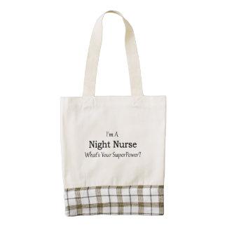 Night Nurse Zazzle HEART Tote Bag