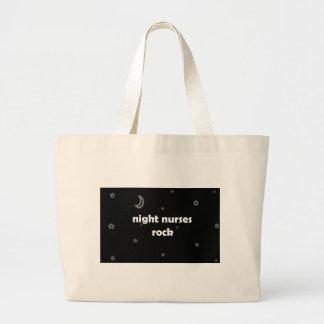 Night Nurses ROCK! Jumbo Tote Bag