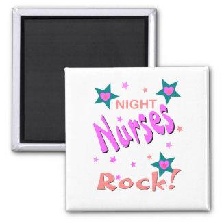 Night Nurses Rock Magnet