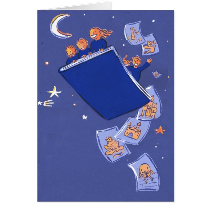 night of 1000 tales card