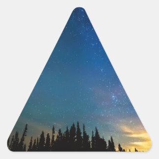Night Of Enchantment Triangle Sticker