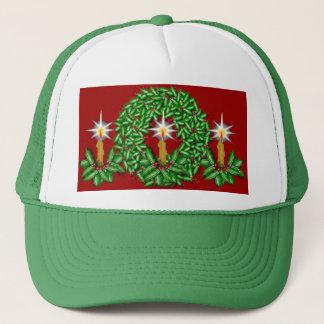 Night of Light Christmas Ball Cap