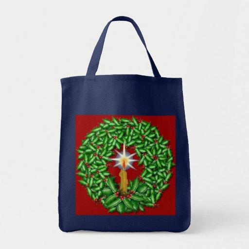 Night of Light Christmas Tote Bag