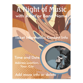 Night of Music Music Flyer