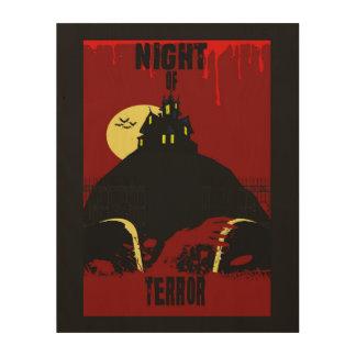 Night of terror horror poster