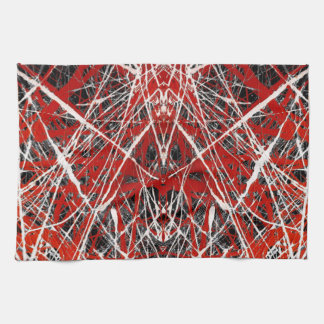 NIGHT OF  THE BAT ss (abstract art) ~ Kitchen Towel