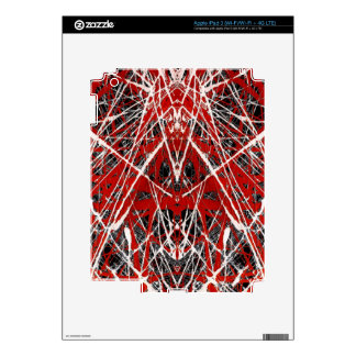 NIGHT OF  THE BAT ss (abstract art) ~ Skins For iPad 3