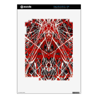 NIGHT OF  THE BAT ss (abstract art) ~ Skins For The iPad 2