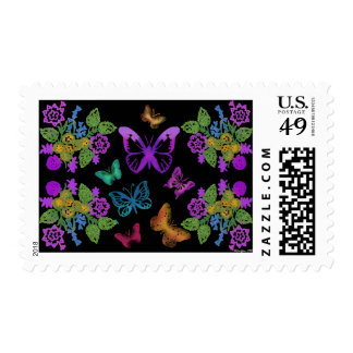 Night of the Butterflies Postage Stamps