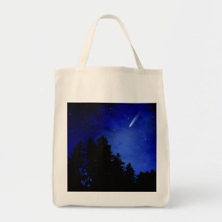 Night Of The Comet Grocery Tote Bag