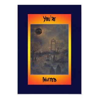Night of the Dead Halloween Invitation
