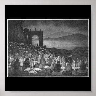 Night of the Dead. Janitzio, Mexico. Circa 1958 Posters