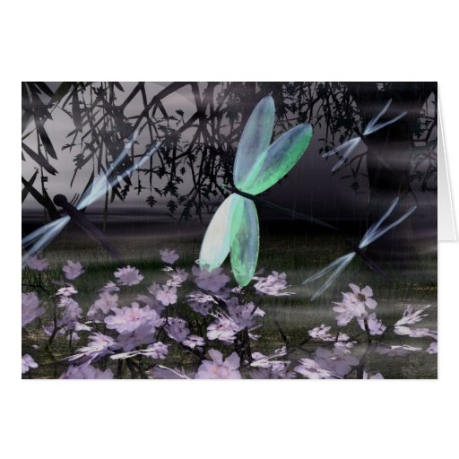 Night of the Dragonflies Card