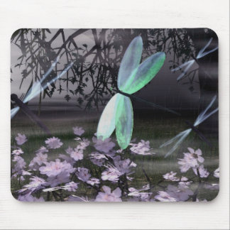 Night of the Dragonflies Mouse Pad