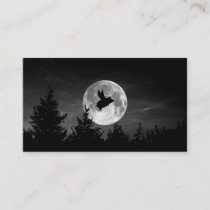 night of the flying pig business card