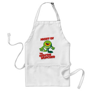 Night Of The GEDCOM Muncher Adult Apron