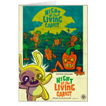 Night of the Living Carrot! Greeting Card