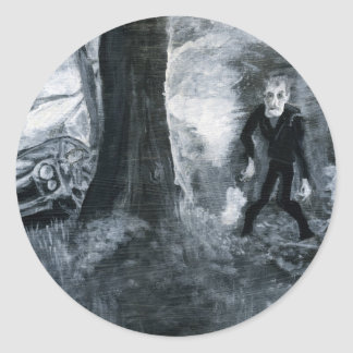 Night of the Living Dead: Zombie Round Sticker
