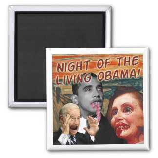 Night of the Living Obama Magnet