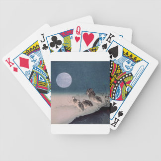 Night of the Quails Bicycle Playing Cards