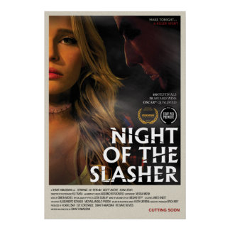 Night of the Slasher Poster (27 x 40)