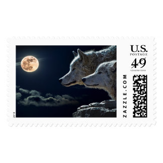 NIGHT OF  THE WOLF ~.jpg Postage
