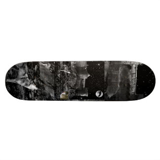 Night of the wolves. Skateboard