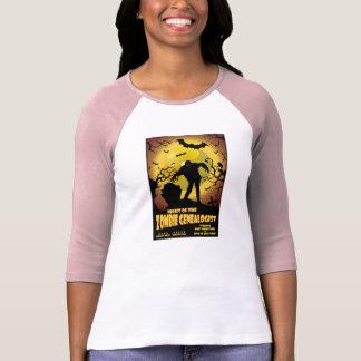 Night Of The Zombie Genealogist T-Shirt