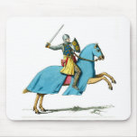 night on a horse mouse pads