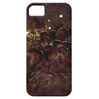 Night on Montmartre by Giovanni Boldini iPhone SE/5/5s Case