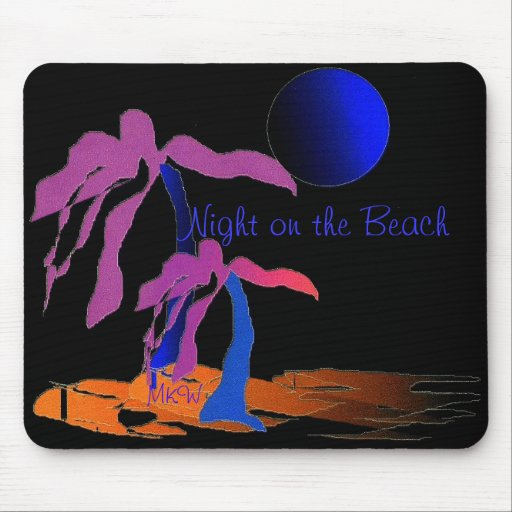 Night on the Beach Mousepad