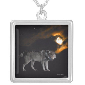 """Night on Wolf Mountain"" Necklace"