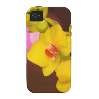 Night Orchid iPhone 4 Cases