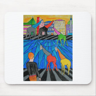 Night out in the Toon Mouse Pad
