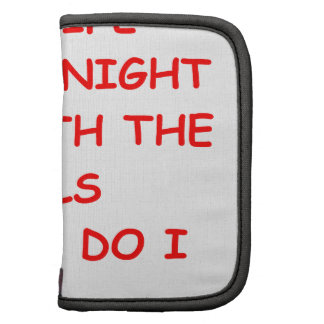 night out folio planner