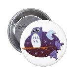 Night Owl 2 Inch Round Button