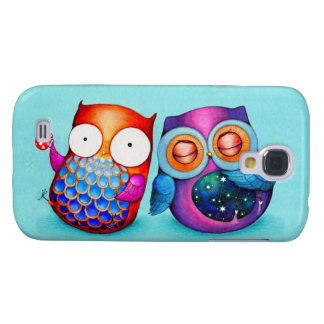 Night Owl and Morning Owl Cuties Galaxy S4 Covers