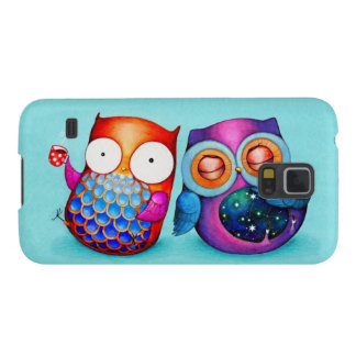 Night Owl and Morning Owl Cuties Galaxy S5 Covers