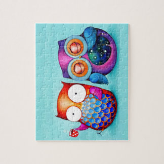 Night Owl and Morning Owl Cuties Puzzle