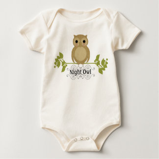 Night Owl Baby Rompers