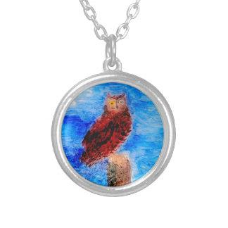 Night Owl Bird Art Jewelry