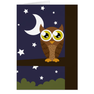 """""""Night Owl"""" Card"""