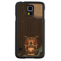 Night Owl Carved Cherry Galaxy S5 Slim Case