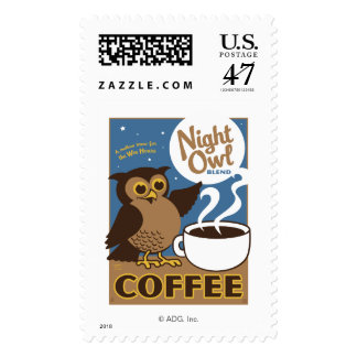 Night Owl Coffee Postage