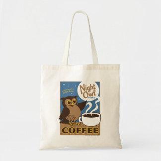 Night Owl Coffee Tote Bag
